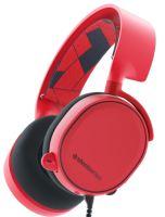 SteelSeries Arctis 3 - Röd
