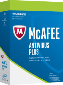 McAfee Antivirus Plus 2018 - 5 PC