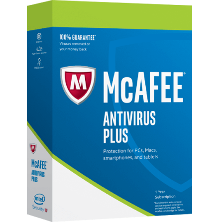 McAfee Antivirus Plus 2020 - 5 PC