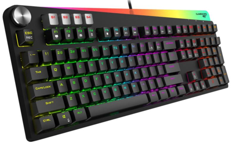 Havit KB473L RGB Backlit